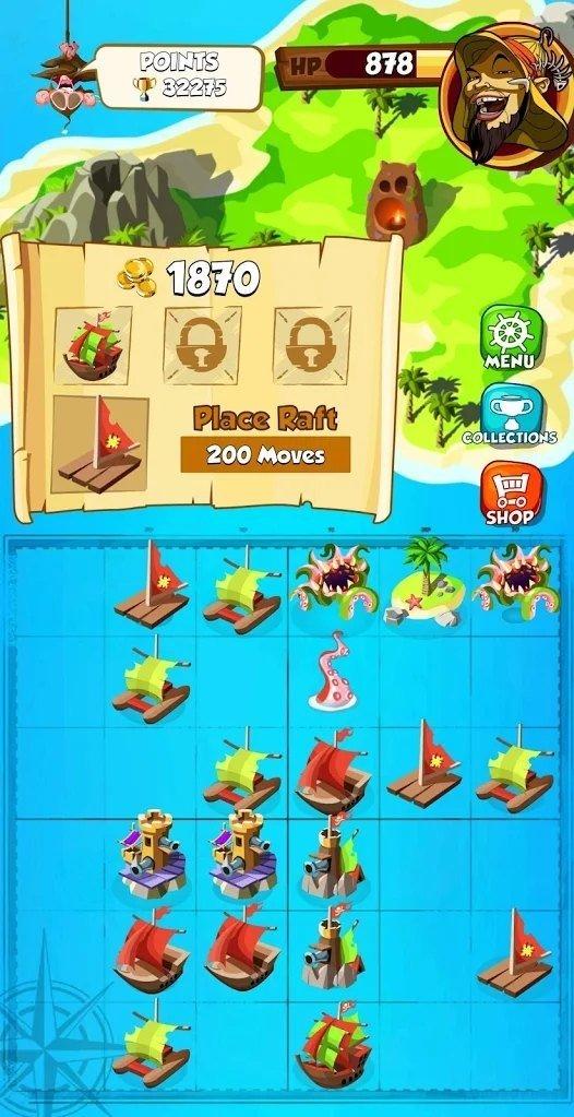 海盗狂热合并与征服游戏图2