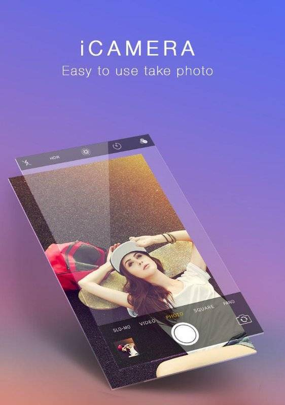 iCamera仿苹果相机app图4