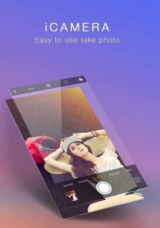 iCamera仿苹果相机app