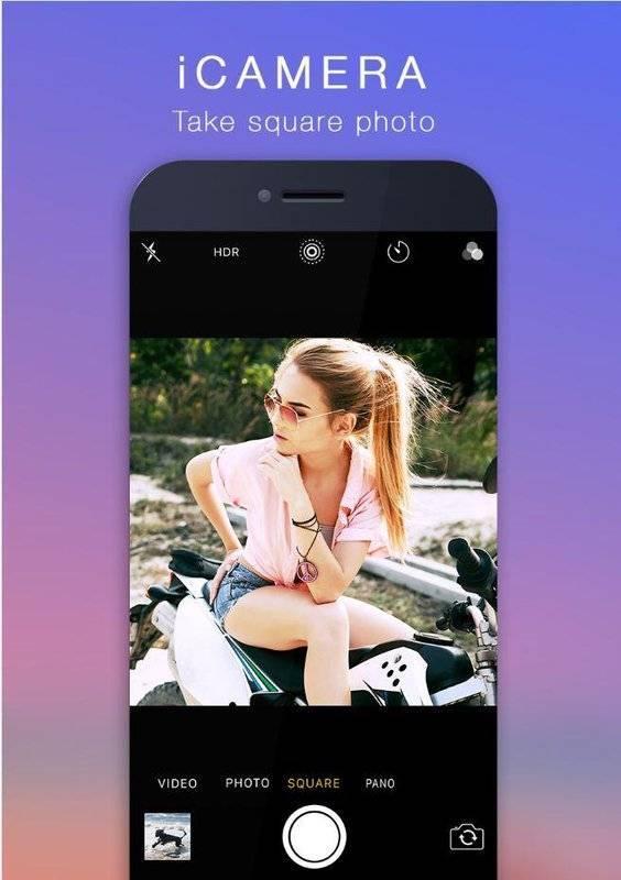 iCamera仿苹果相机app图2